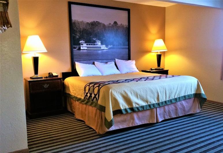 Super 8 by Wyndham Iowa Falls, Iowa Falls, Apartament typu Suite, Łóżko king, wanna z hydromasażem, Pokój