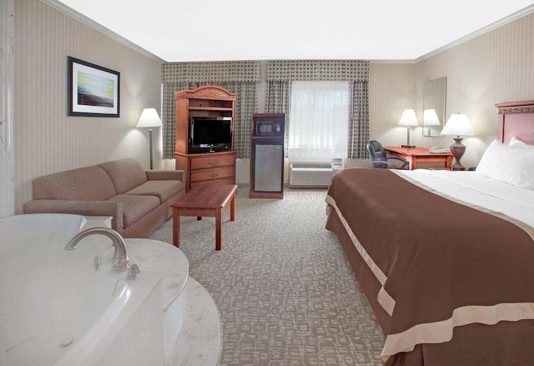 Baymont by Wyndham Jackson, Jackson, Suite, 1 cama king-size, Não-fumadores, Quarto