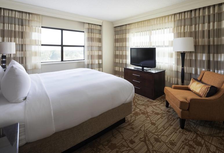 Minneapolis Marriott Northwest, פארק ברוקלין, סוויטת אקזקיוטיב, חדר שינה אחד, ללא עישון, חדר אורחים