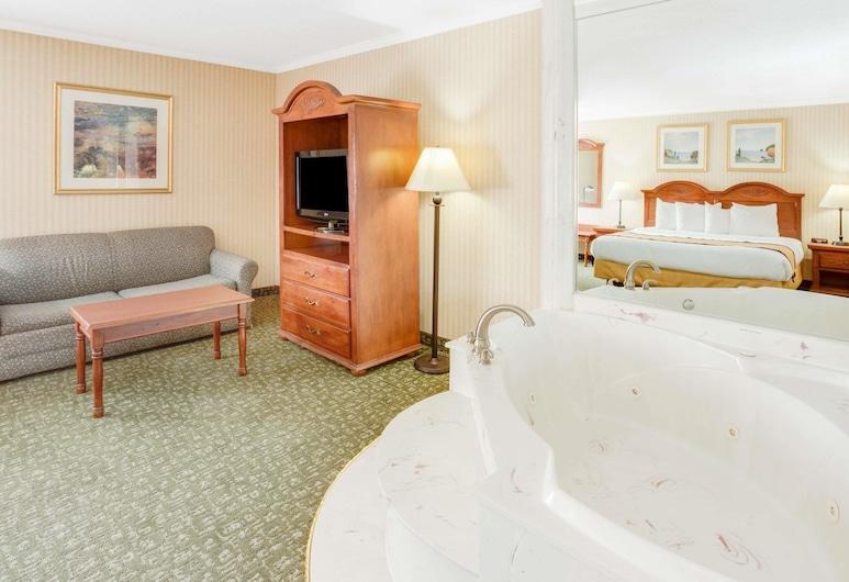 卡拉馬朱溫德姆貝蒙特飯店, 卡拉馬祖, 開放式套房, 1 張特大雙人床, 非吸煙房, 客房