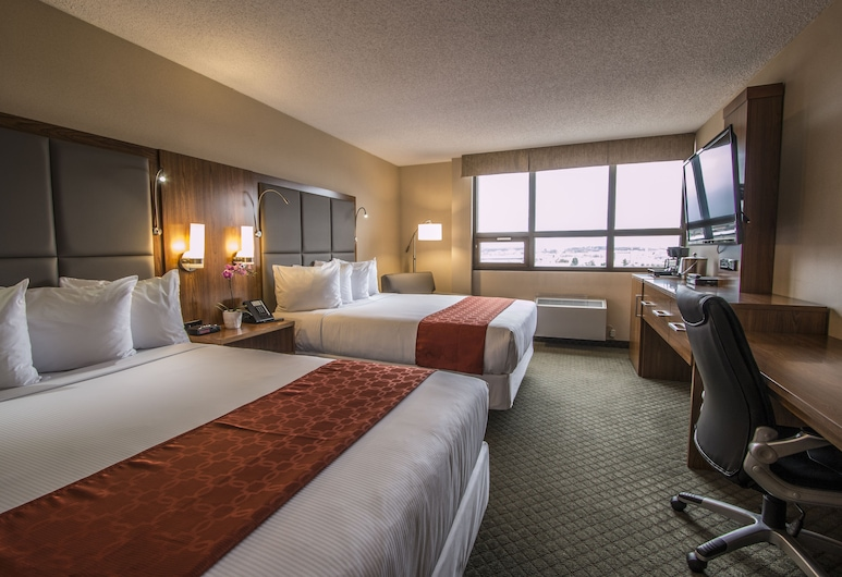 Northern Grand Hotel, Fort St. John, Standard Room, 2 Queen Beds, Guest Room