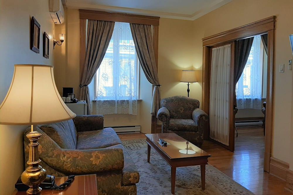 Luxury-Suite, Nichtraucher - Wohnzimmer
