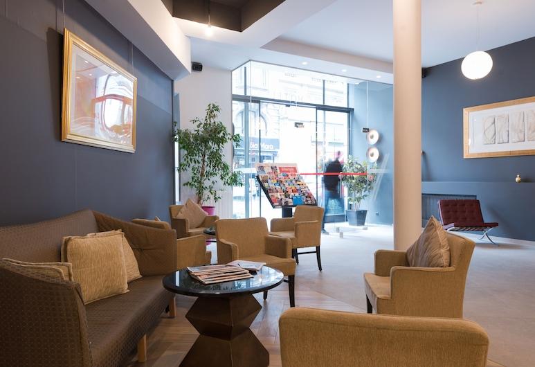 Hotel Saint Nicolas, Bruxelles, Facciata hotel