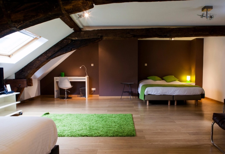 Hotel Saint Nicolas, Brussels, Suite, Annex Building, Guest Room