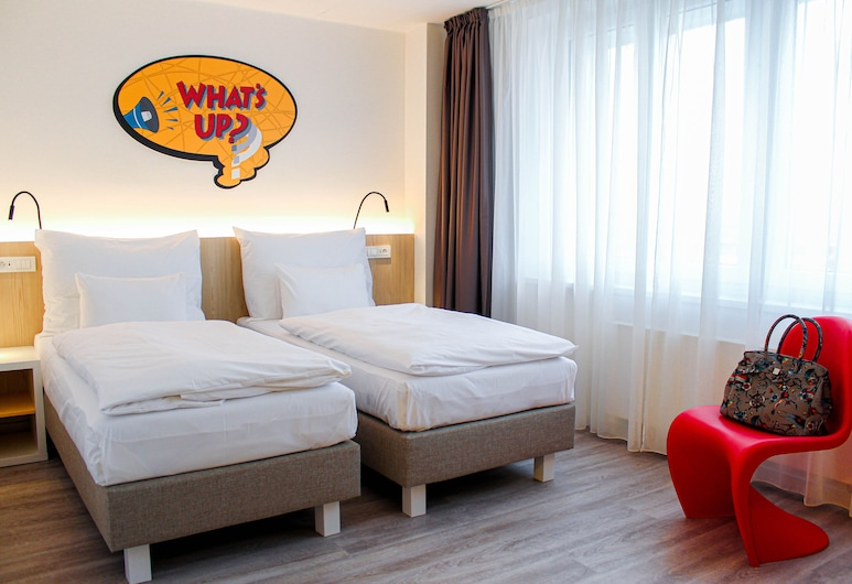 Comfort Hotel Prague City East, Praga, Quarto standard, 2 camas de solteiro, para não fumantes, Quarto