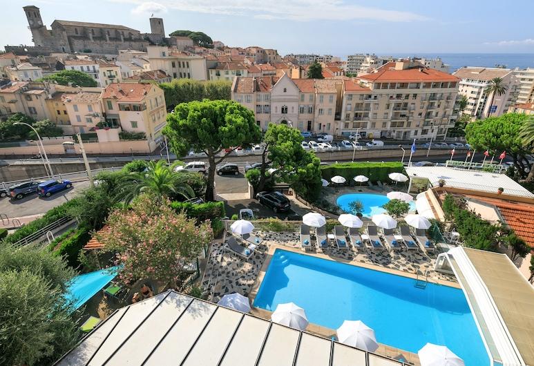The Originals Boutique, Hôtel des Orangers, Cannes (Inter-Hotel), Cannes, Uitzicht op de stad vanuit de accommodatie