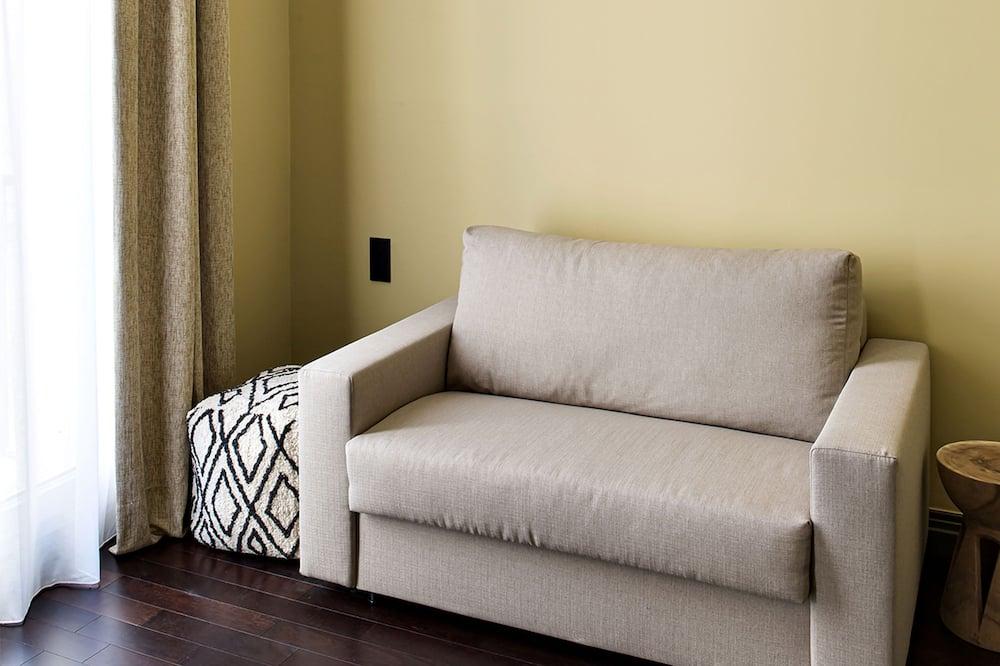Luxusná štvorposteľová izba - Obývacie priestory