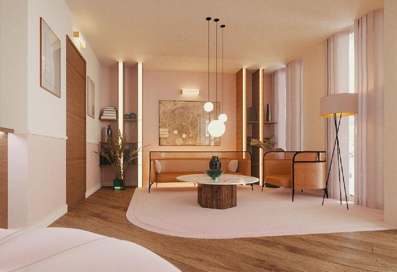 Hotel Oratio (Ex Agora Saint Germain), Paris, Superior Room, Living Area