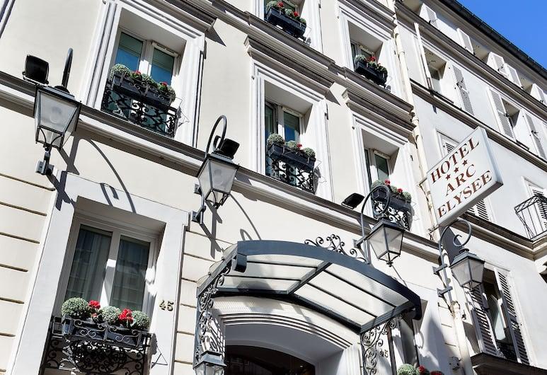 호텔 아크 엘리시스, 파리, 호텔 입구