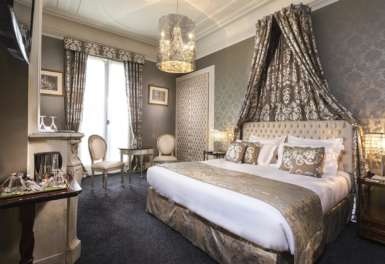 Hôtel Claridge, Parijs, Deluxe kamer, Kamer