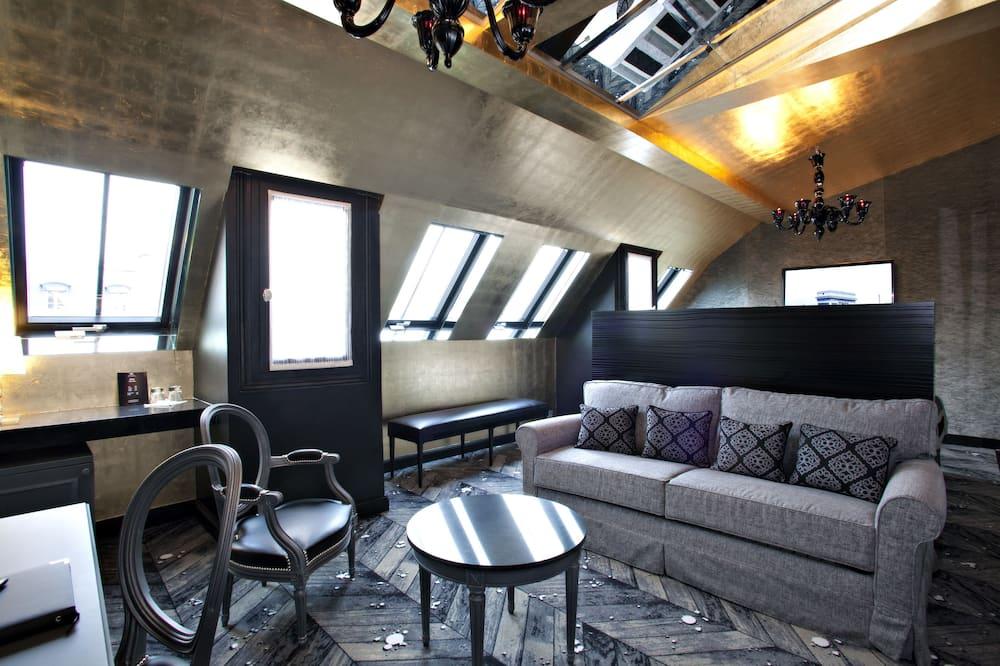 Apartament typu Suite (Imperiale) - Powierzchnia mieszkalna