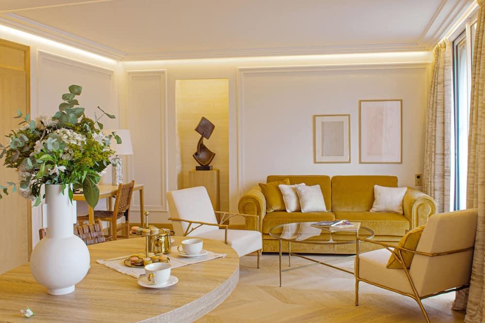 شقة - منطقة المعيشة