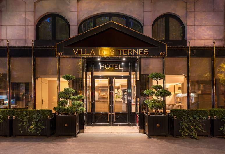 La Villa des Ternes Hotel, Pariis, Fassaad