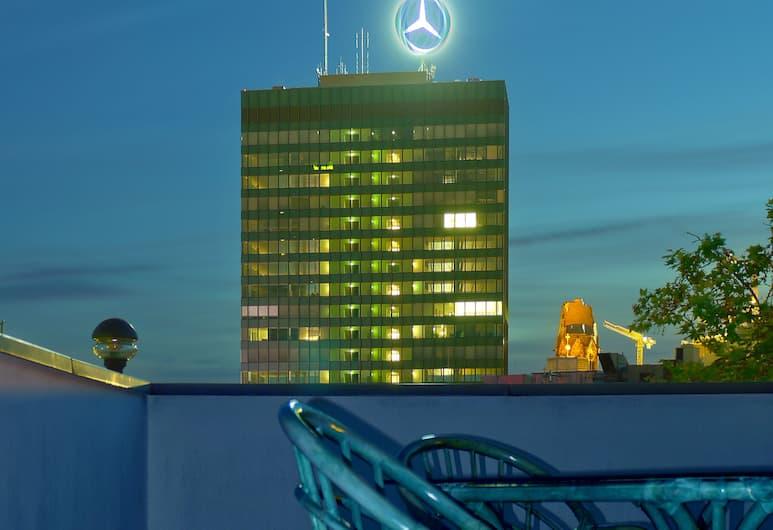 Air in Berlin Hotel, Berlin, Blick vom Hotel