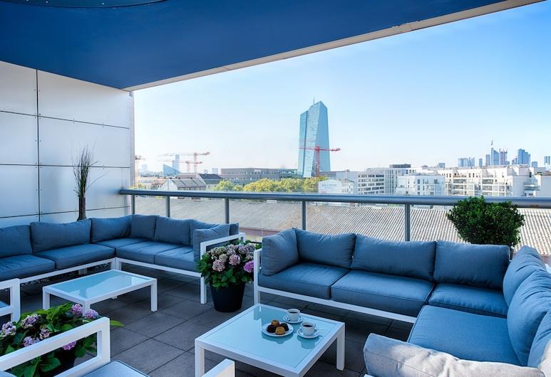 ACHAT Hotel Frankfurt City, Frankfurt, Terrasse/Patio