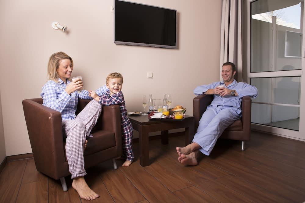 Pokój dwuosobowy, rodzinny - Powierzchnia mieszkalna