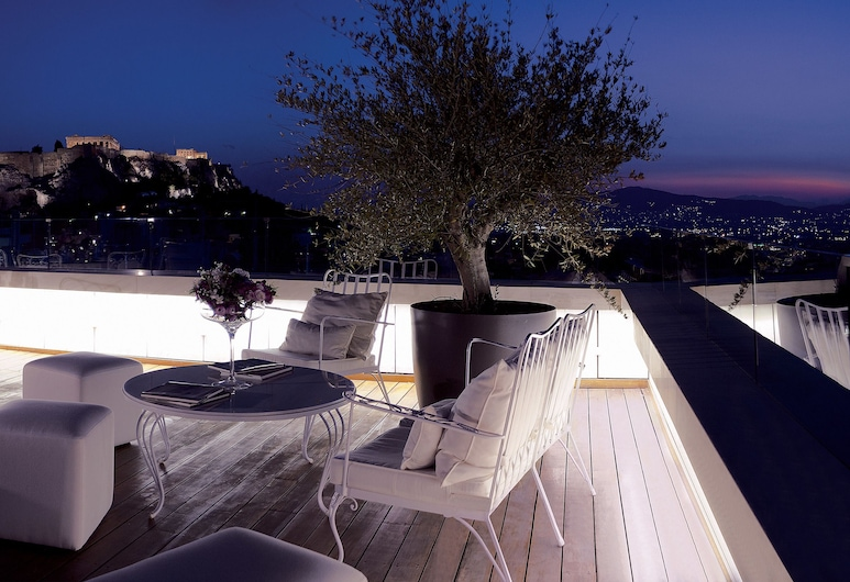 New Hotel, Athens, Penthouse, Terrace/Patio