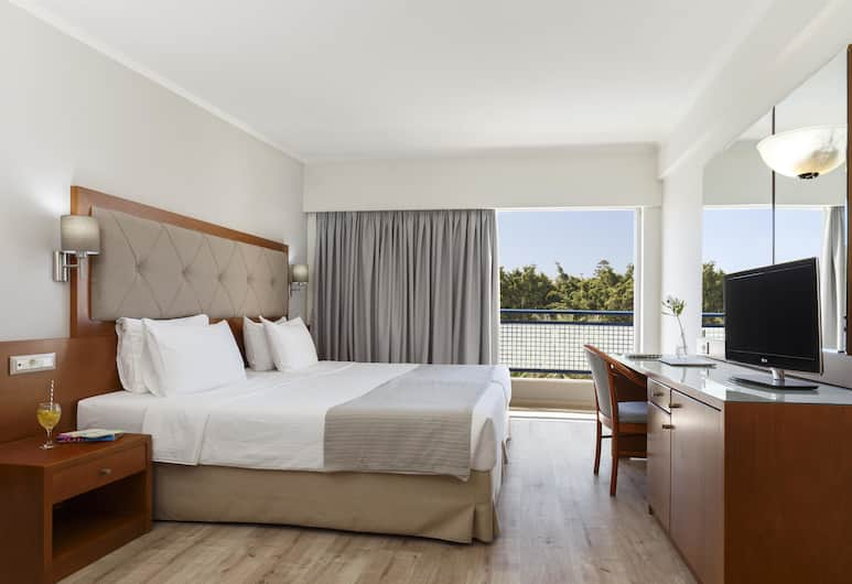 Best Western Plus Hotel Plaza, Rhodes, Standard Room, 2 Single Beds, Non Smoking, Pool View, Guest Room View