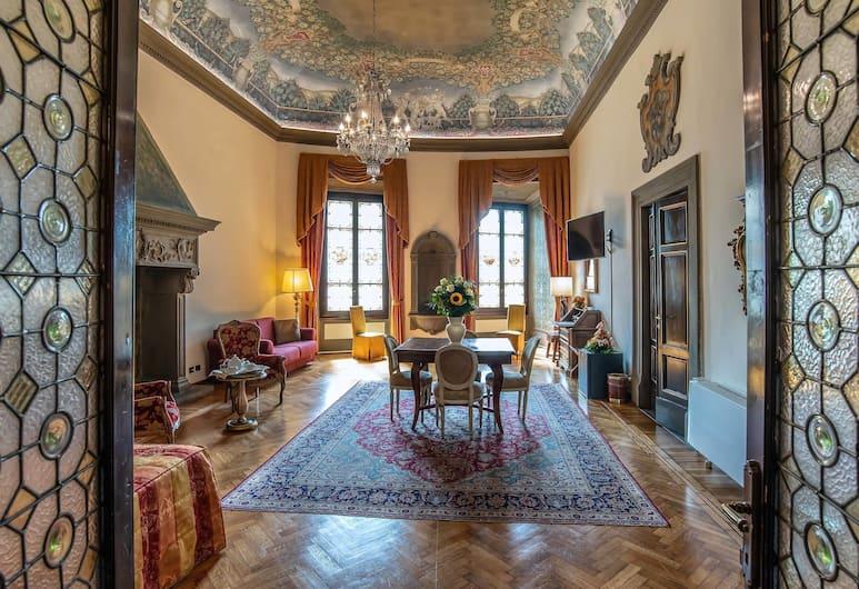 Hotel Paris, Florenz, Presidential-Zimmer, Zimmer