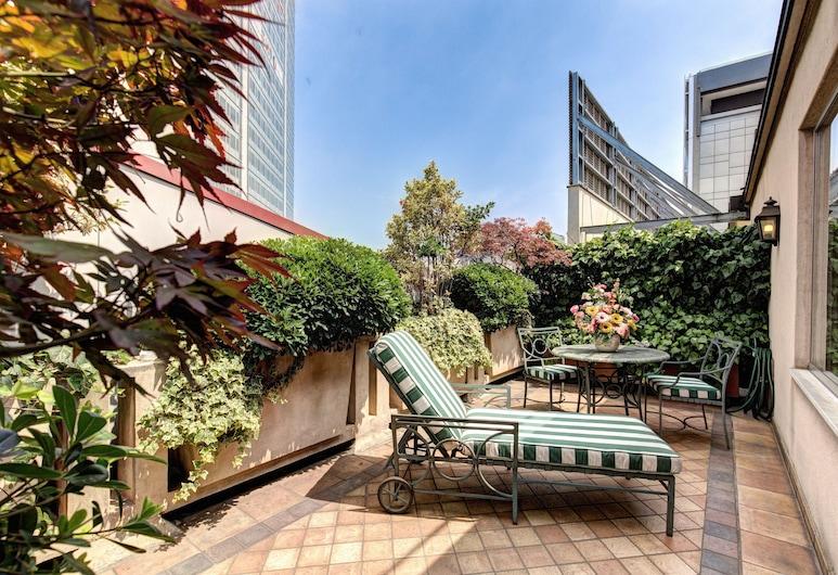 奧瑞伽酒店, 米蘭, 露台