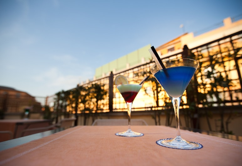 Hotel Delle Nazioni, Rzym, Taras/patio