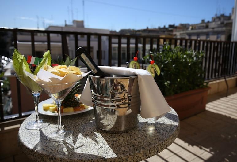 麗晶酒店, 羅馬, 室外用餐
