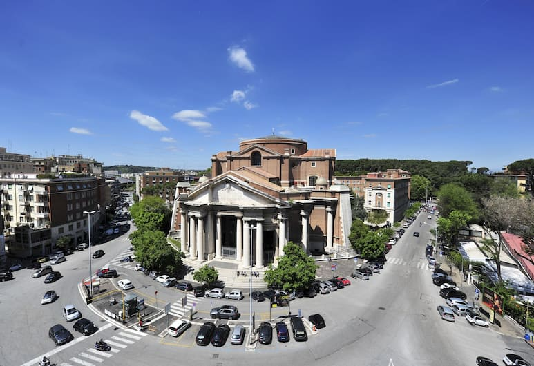 Hotel Regent, Rom, Utsikt från luften