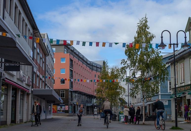 Scandic Harstad, Harstad, Fachada del hotel