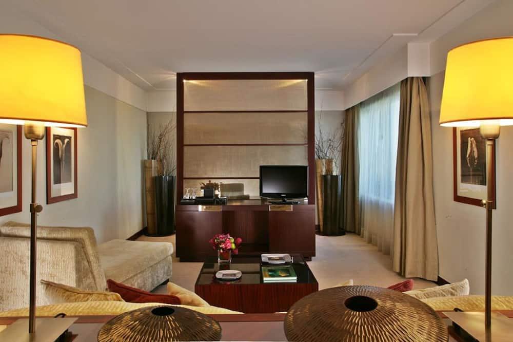 Phòng Suite Executive, 1 giường cỡ king - Phòng khách