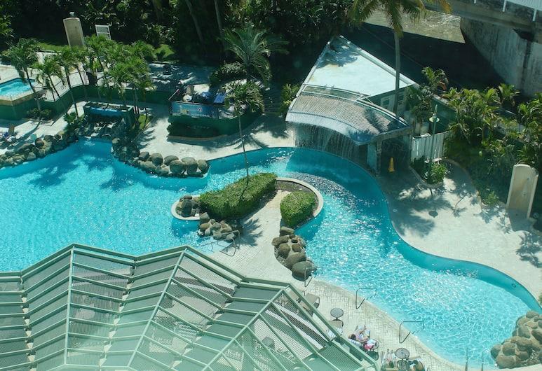 Embassy Suites by Hilton San Juan Hotel & Casino, Carolina, Suite, 2 letti matrimoniali, vista piscina, Vista dalla camera
