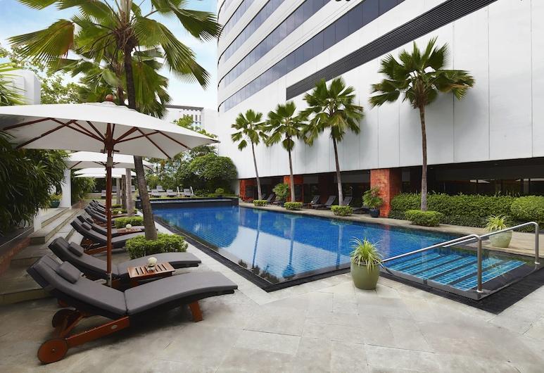 JWマリオット・ホテル・バンコク, バンコク, 屋外プール