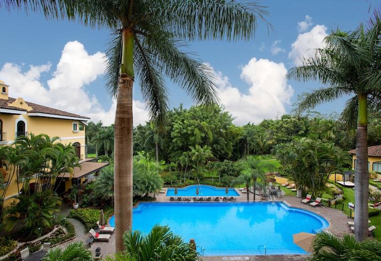 Costa Rica Marriott Hotel Hacienda Belen, San Antonio de Belen, Executive-Zimmer, 1King-Bett, Nichtraucher, Ausblick vom Zimmer