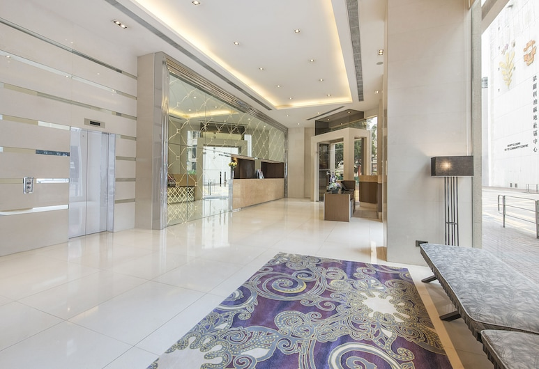 Silka Seaview Hotel, Kowloon, Lobby Sitting Area