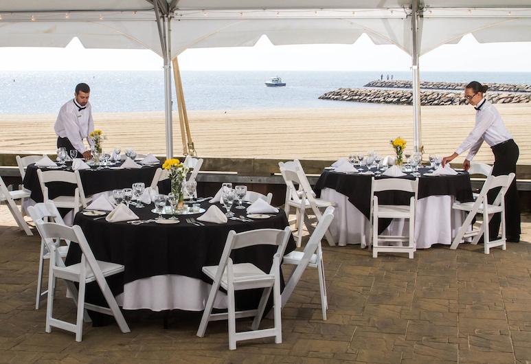 Red Jacket Beach Resort, South Yarmouth, Udendørs bryllupsområde