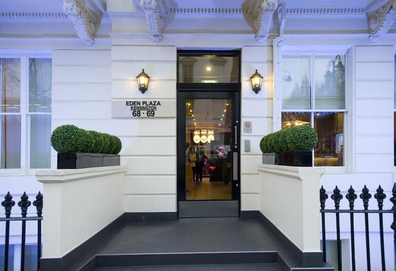 에덴 플라자 켄싱턴 호텔, 런던, 호텔 입구