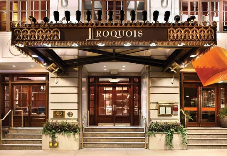 The Iroquois New York, New York, Hotel Entrance