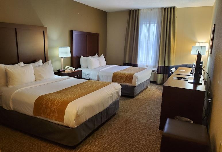Comfort Inn Mechanicsburg - Harrisburg South, Mechanicsburg, Quarto Standard, 2 camas queen-size, Não-fumadores, Quarto