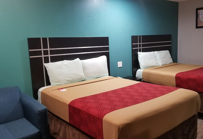 Econo Lodge, Houston, Standard Double Room, 2 Double Beds, Non Smoking, Guest Room