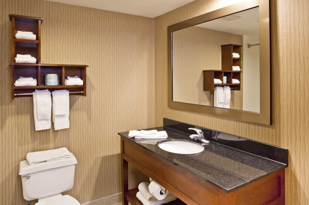 Suite, 1Queen-Bett, NR - Badezimmer