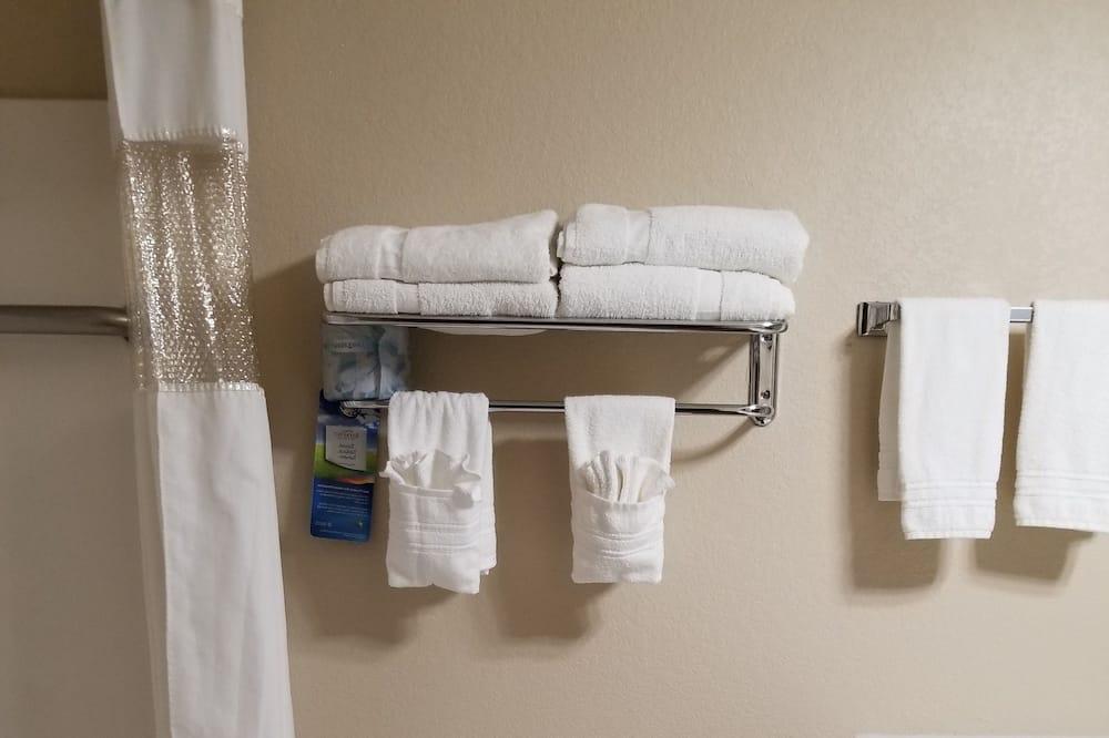 Suite ejecutiva, 1 cama King size, para no fumadores, bañera de hidromasaje (2 Rooms) - Baño