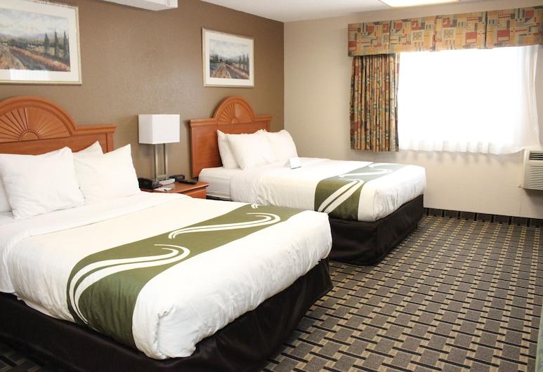 Quality Inn & Suites Detroit Metro Airport, Romulus, Standard szoba, 2 queen (nagyméretű) franciaágy, nemdohányzó, Vendégszoba