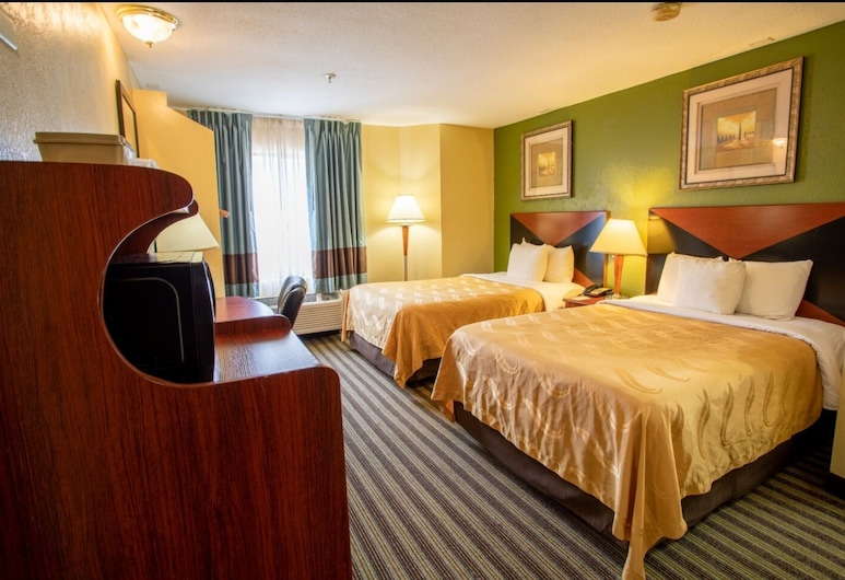 Quality Inn Baytown - Houston East, Baytown, Standard Double Room, Non Smoking, Guest Room