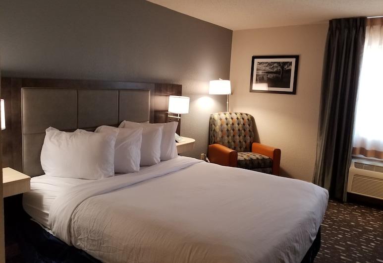 Wingate by Wyndham Auburn, Auburn, New Hampshire, Phòng, 1 giường cỡ queen, Phù hợp cho người khuyết tật, Không hút thuốc (Mobility), Phòng