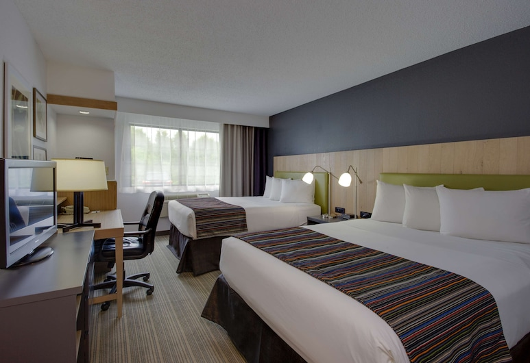 Country Inn & Suites by Radisson, Frederick, MD, Frederick, Studio-suite - 1 kingsize-seng - ikke-ryger, Værelse