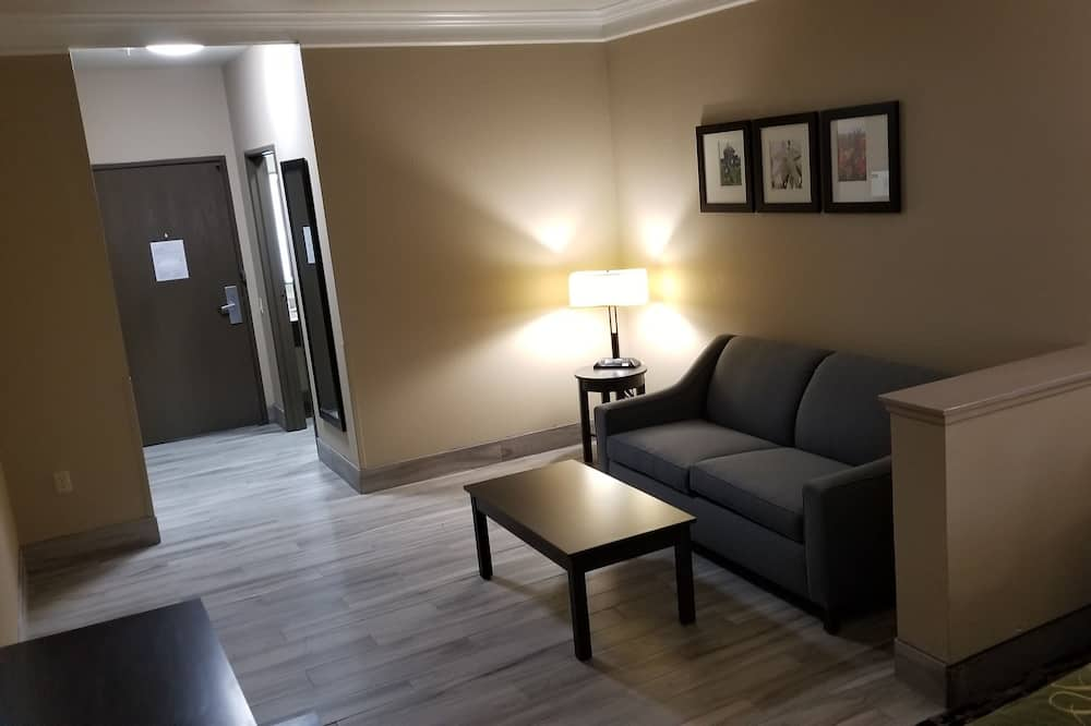 Suite, Multiple Beds, Non Smoking (Upgrade) - Living Room