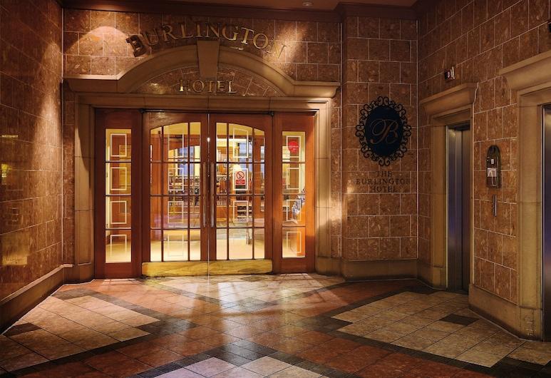 Macdonald Burlington Hotel, Birmingham, Sisäänkäynti