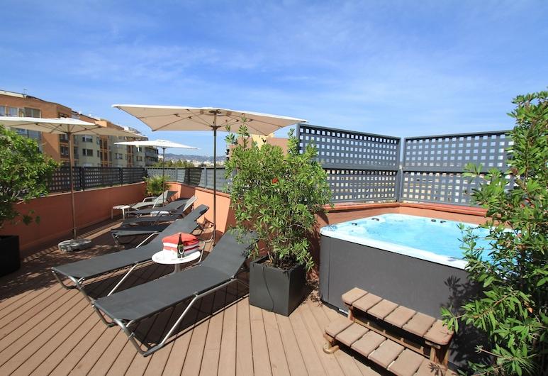 호텔 밀레니, 바르셀로나, 야외 스파 욕조