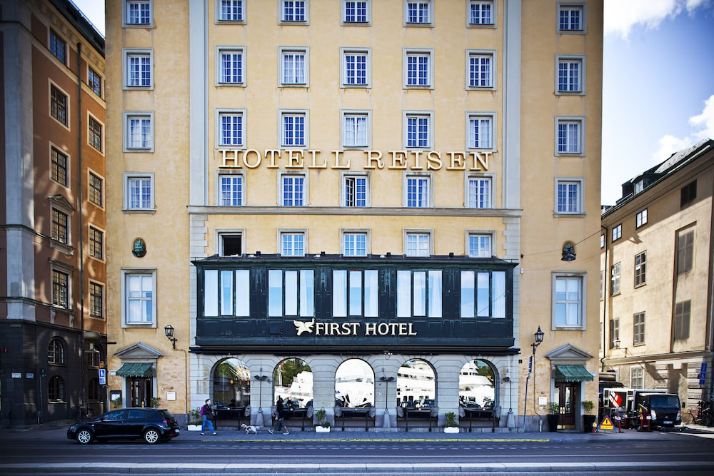 First Hotel Reisen, Stockholm, Façade de l'hôtel