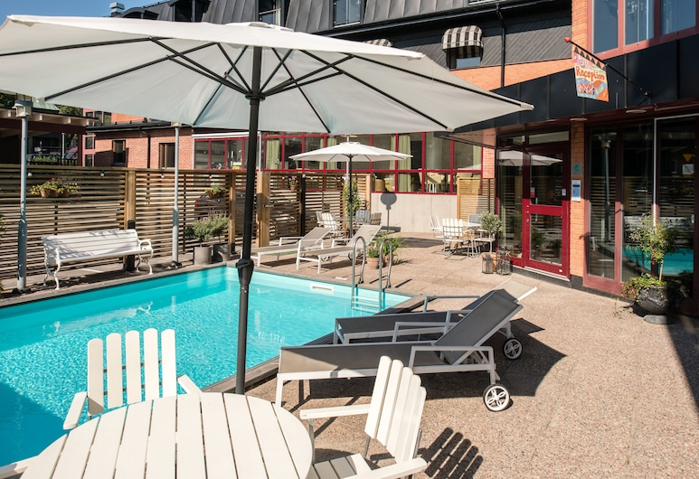 Best Western Hotell Hudik, Hudiksvall, Piscine en plein air