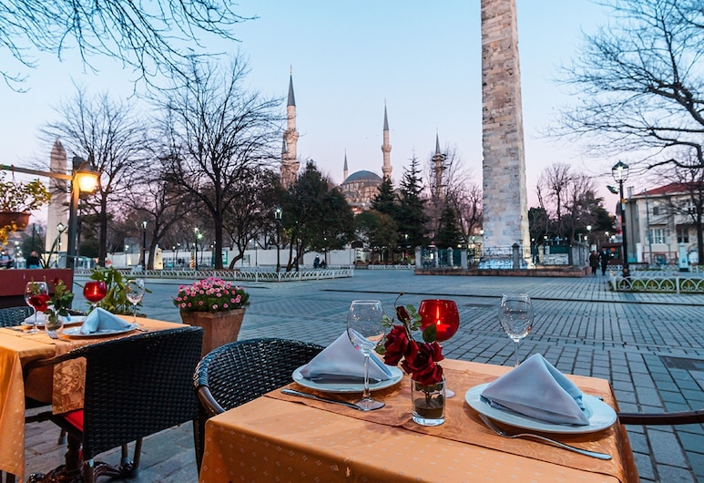 Alzer Hotel - Special Class, Istanbul, Outdoor Dining